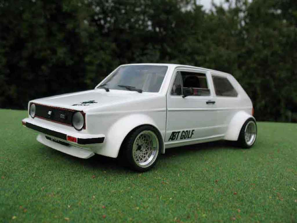 Volkswagen Golf 1 GTI 1/18 Solido kit abt tuning miniature