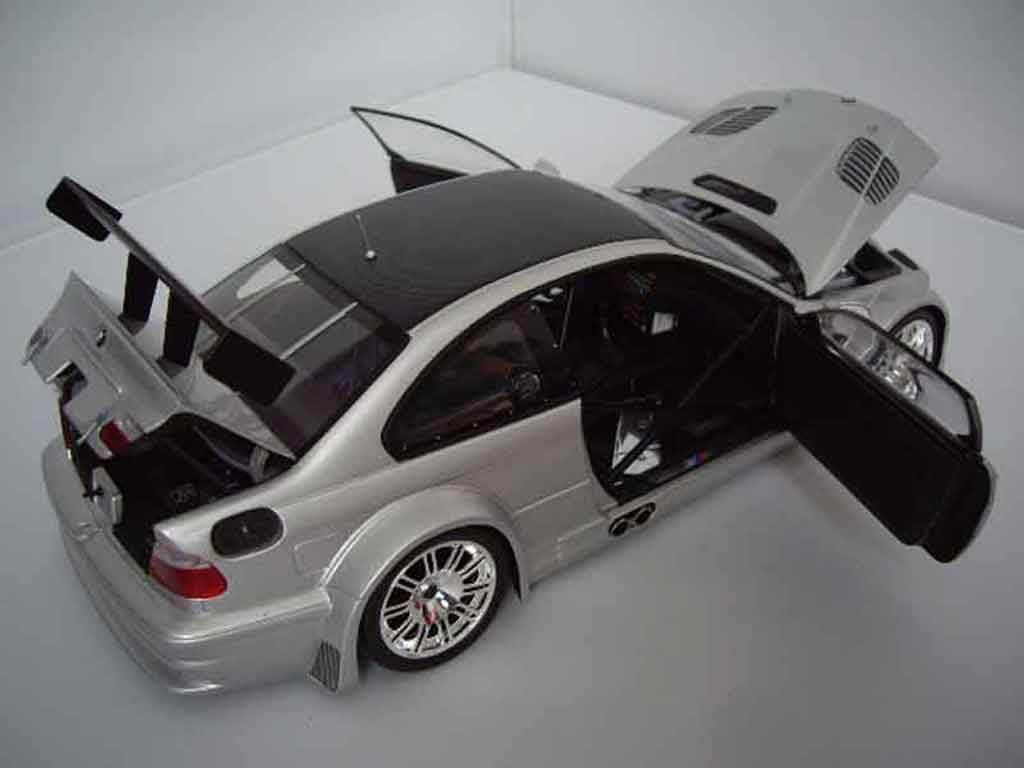Ceritaindonesia Bmw M3 E46 Gtr Gray Minichamps Diecast Model Car 1 18 Buy Sell