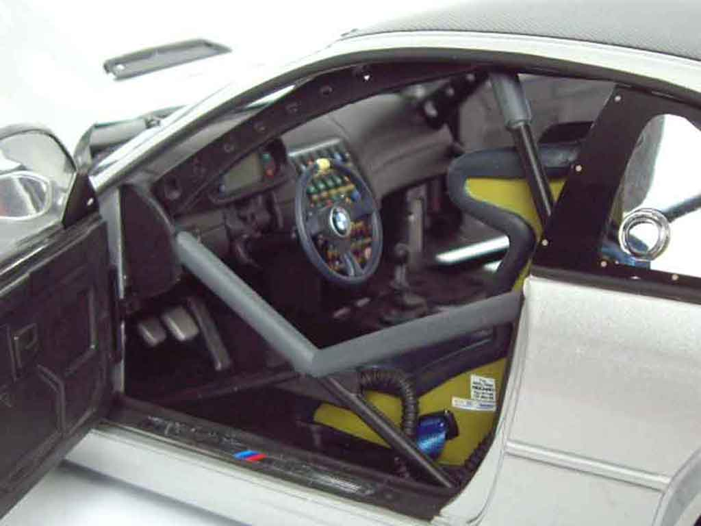 Bmw M3 E46 1/18 Minichamps GTR gray