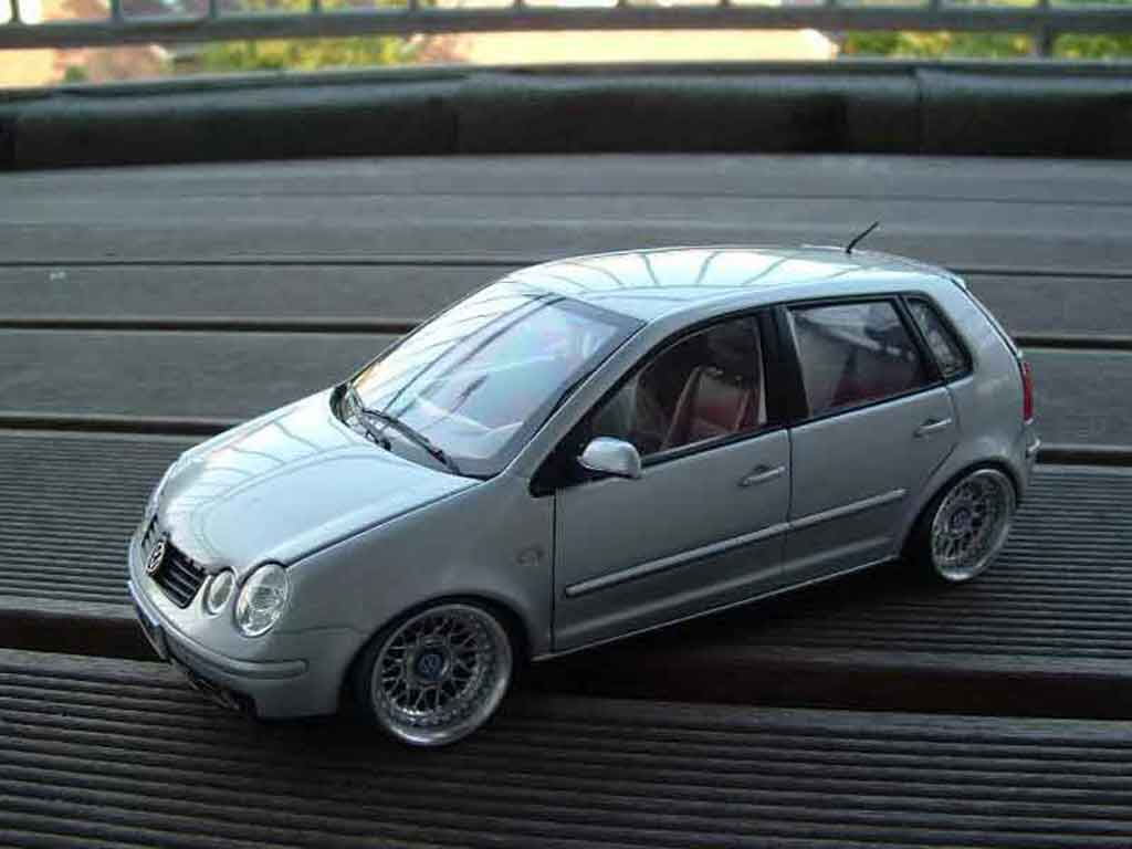 Volkswagen Polo 1/18 Anson german look tuning miniature