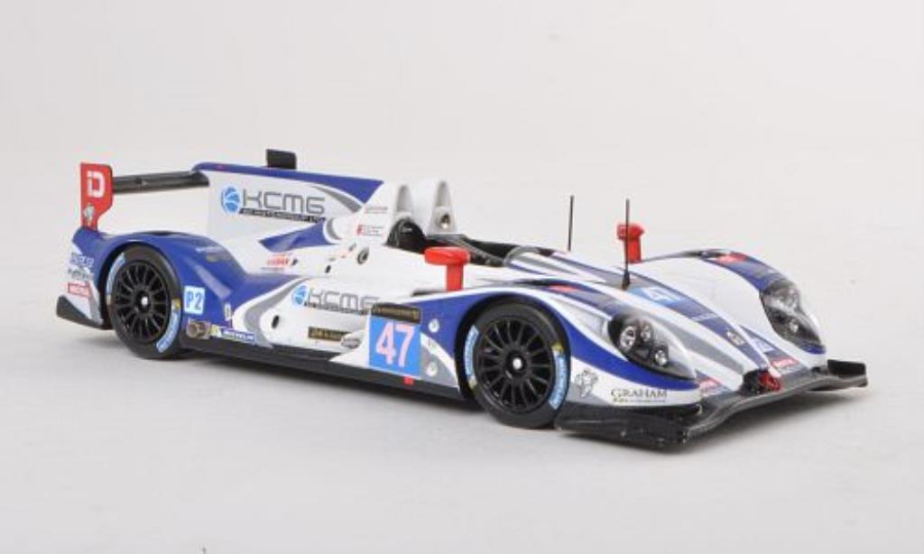 Morgan Nissan 1/43 Spark KCMG No.47 24h Le Mans 2013 /H.P miniature