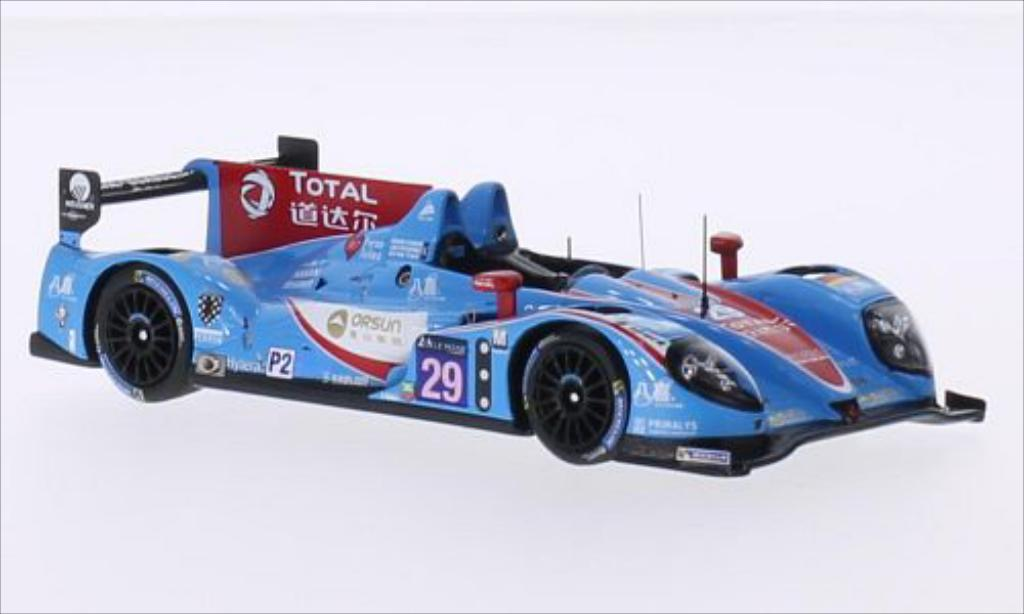 Morgan Nissan 1/43 Spark No.29 Pegasus Racing Total 24h Le Mans 2015 miniature