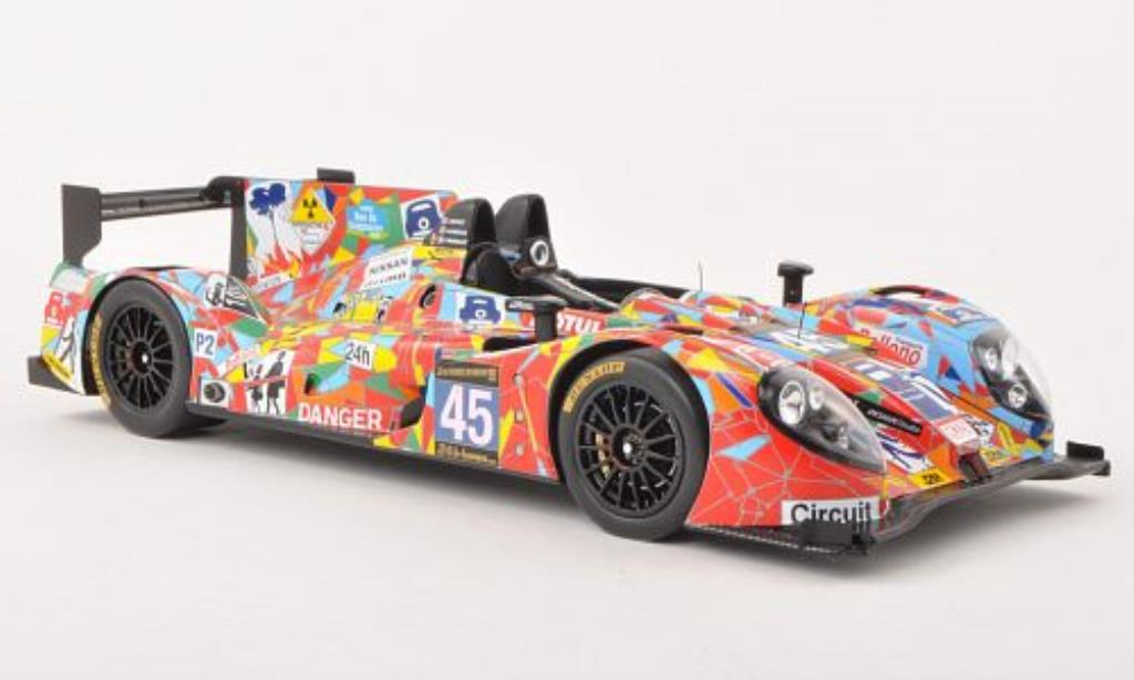 Morgan Nissan 1/18 Spark No.45 OAK Racing 24h Le Mans 2013 miniatura