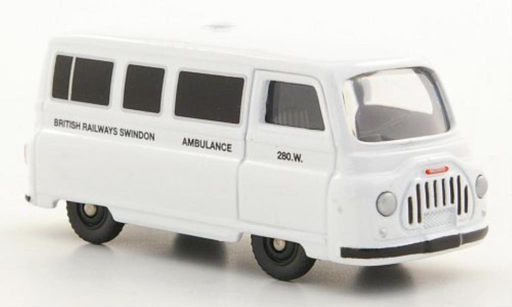 Morris J2 1/76 Corgi British Rail Swindon - Ambulance miniature