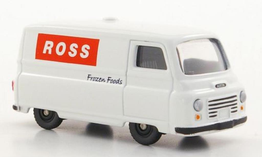 Morris J2 1/76 Corgi Kasten Ross Frozen Foods RHD miniature