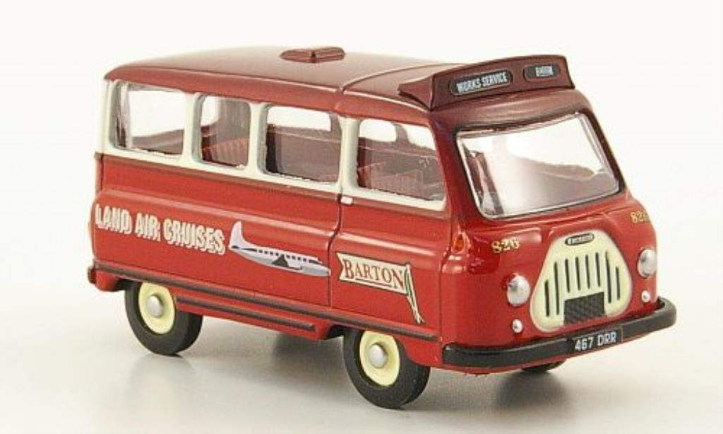Morris J2 1/76 Oxford Minibus Bartons miniature