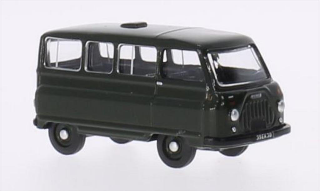 Morris J2 1/76 Oxford Minibus verte RHD miniature