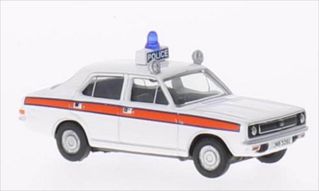 Morris Marina 1/76 Oxford Cheshire Police RHD miniature