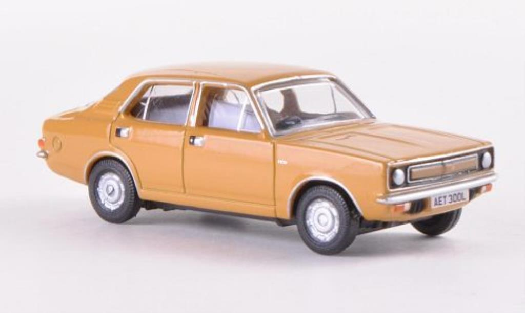 Morris Marina 1/76 Oxford beige RHD miniature