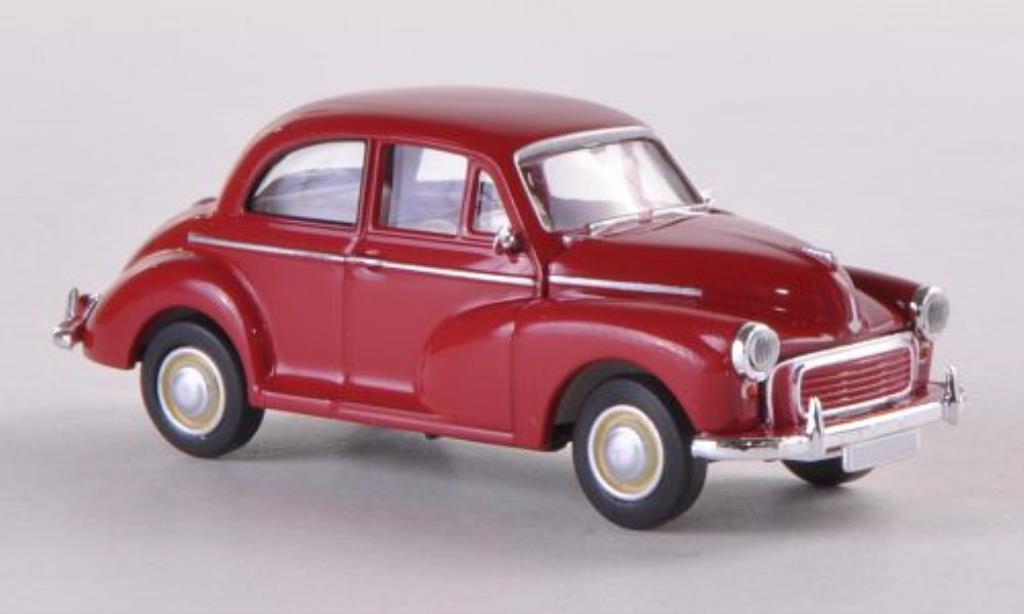 Morris Minor 1/87 Brekina rouge (GB) miniature