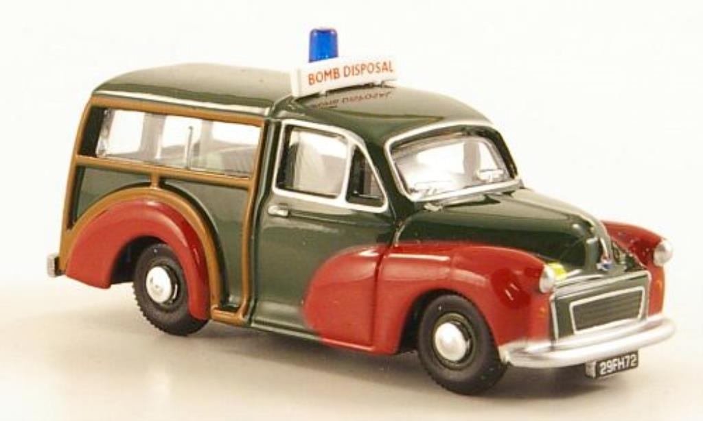 #87411 1960-1:87 weiss BoS-Models Morris Minor Van
