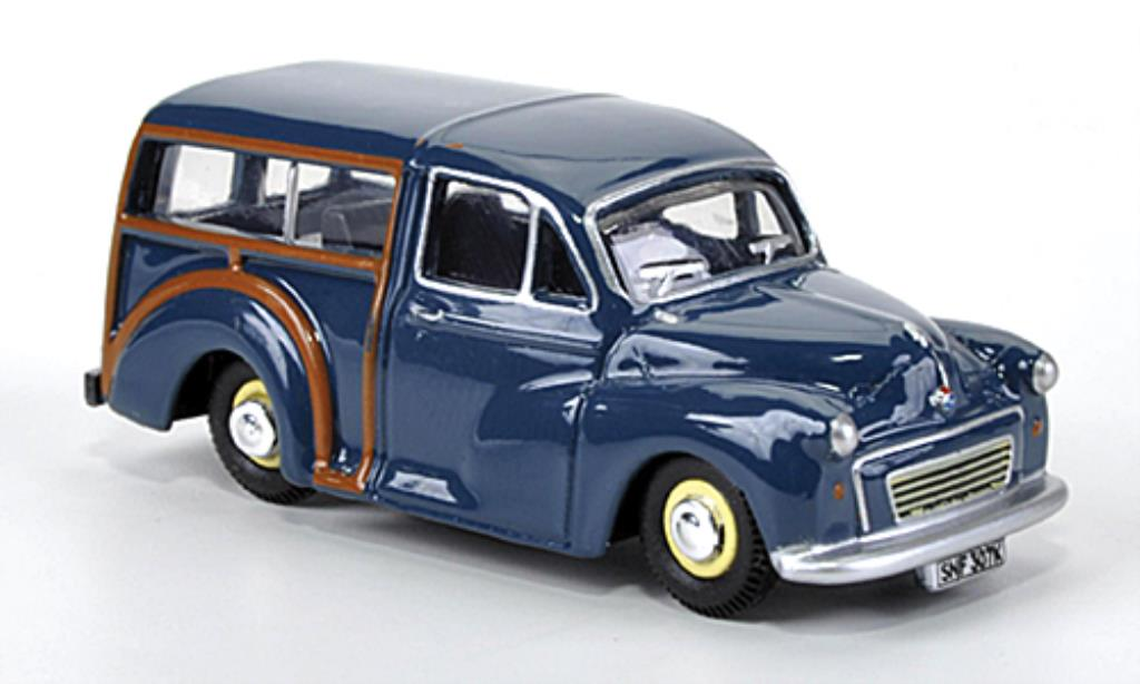 Morris Minor 1/76 Oxford Van bleu 1960 miniature