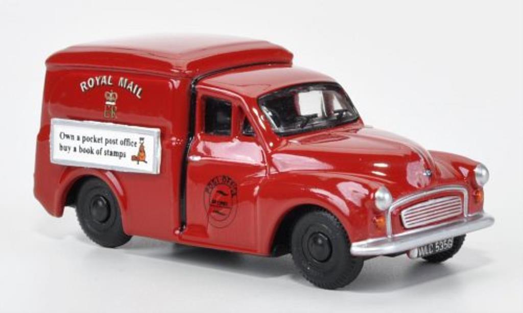 Morris Minor 1/76 Oxford Van Royal Mail 1960 miniature