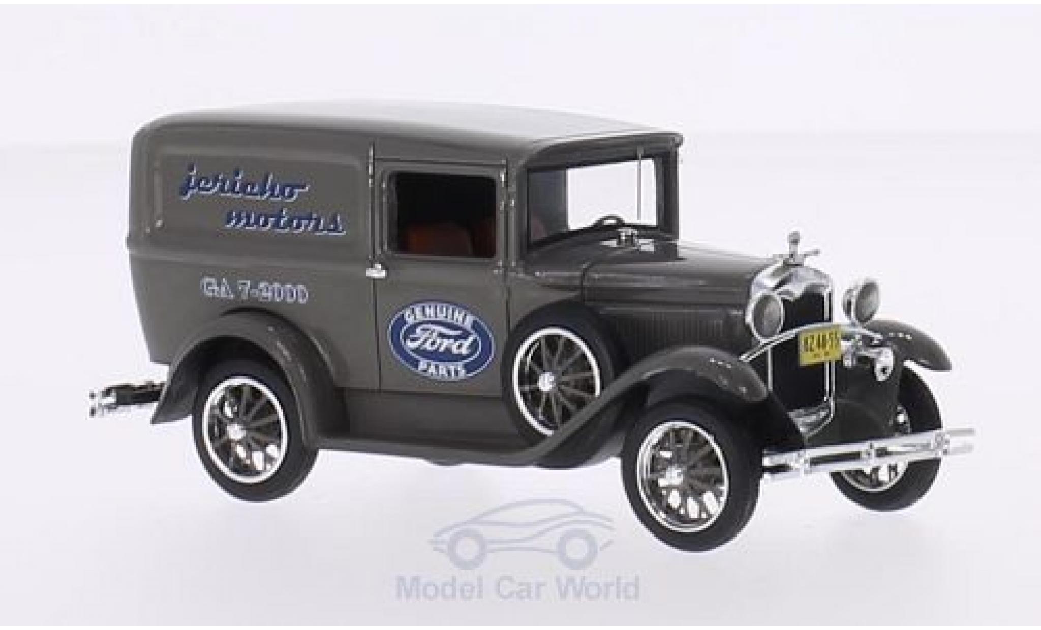 Ford Model A 1/43 Motorhead Livery grise Jericho Motors 1931