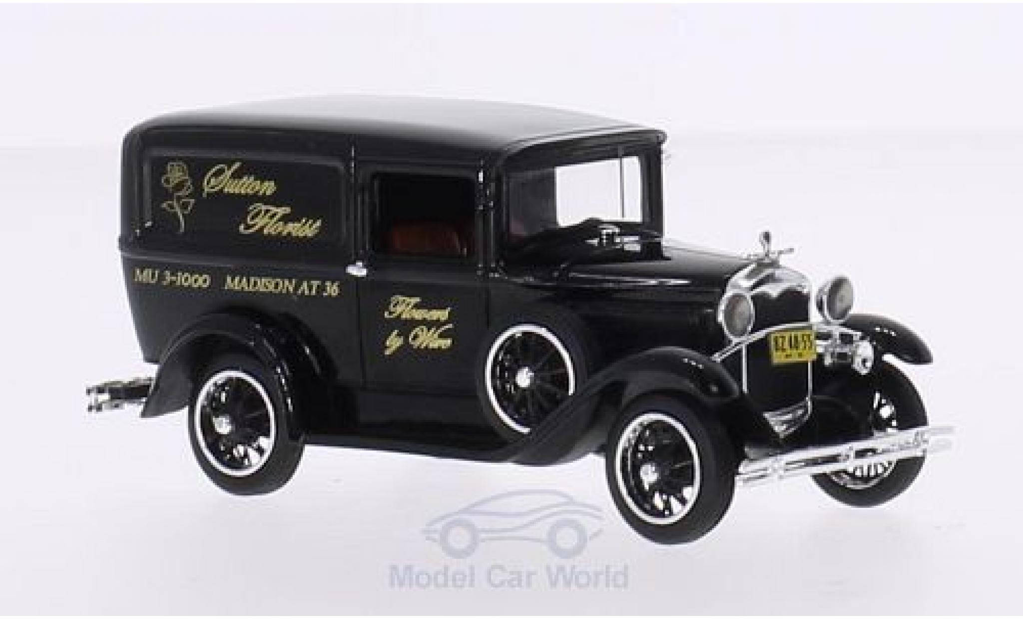 Ford Model A 1/43 Motorhead Livery noire Sutton Florist 1931