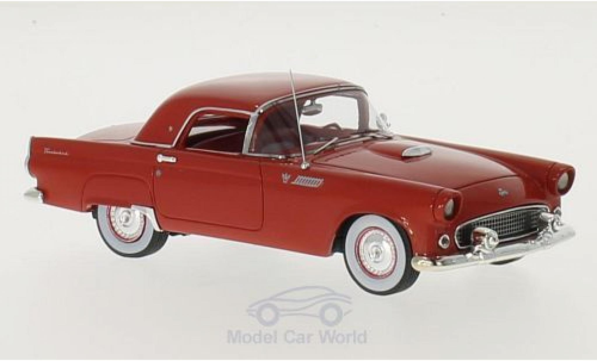 Ford Thunderbird 1955 1/43 Motorhead Hardtop rouge