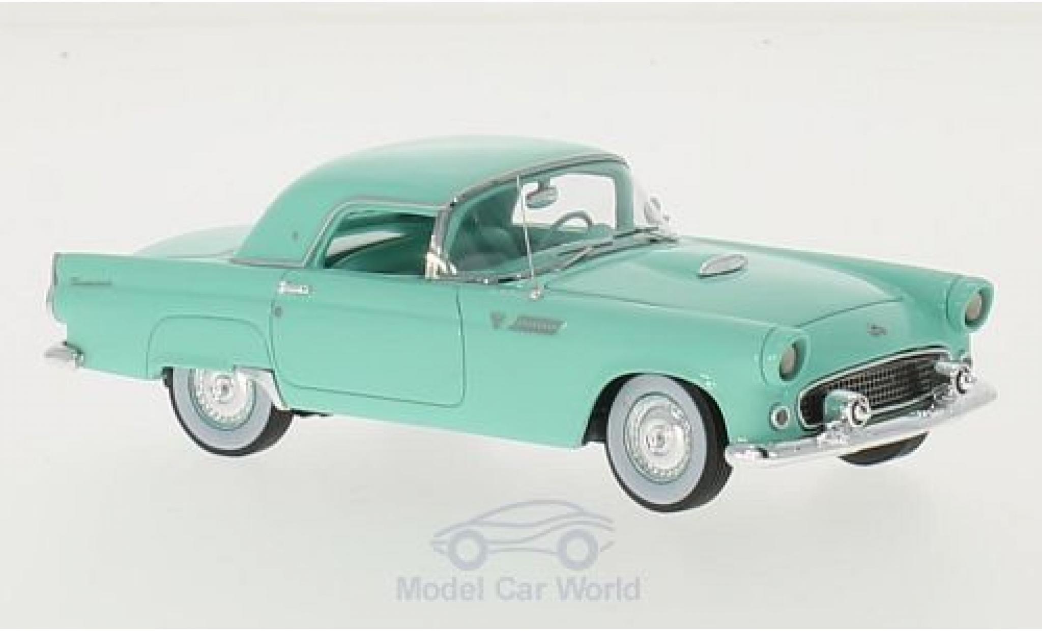 Ford Thunderbird 1955 1/43 Motorhead Hardtop turquoise