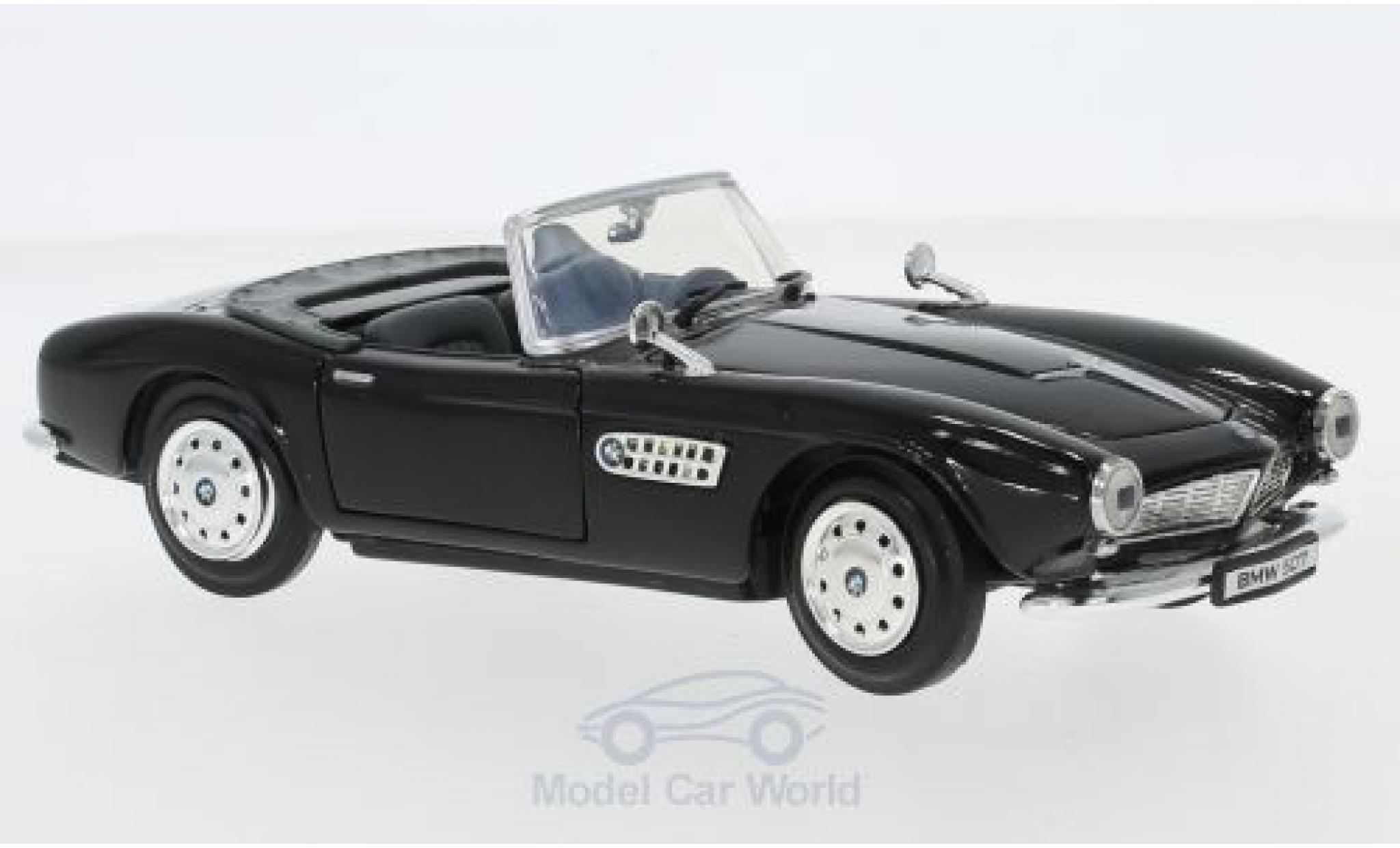 Bmw 507 1/24 Motormax black