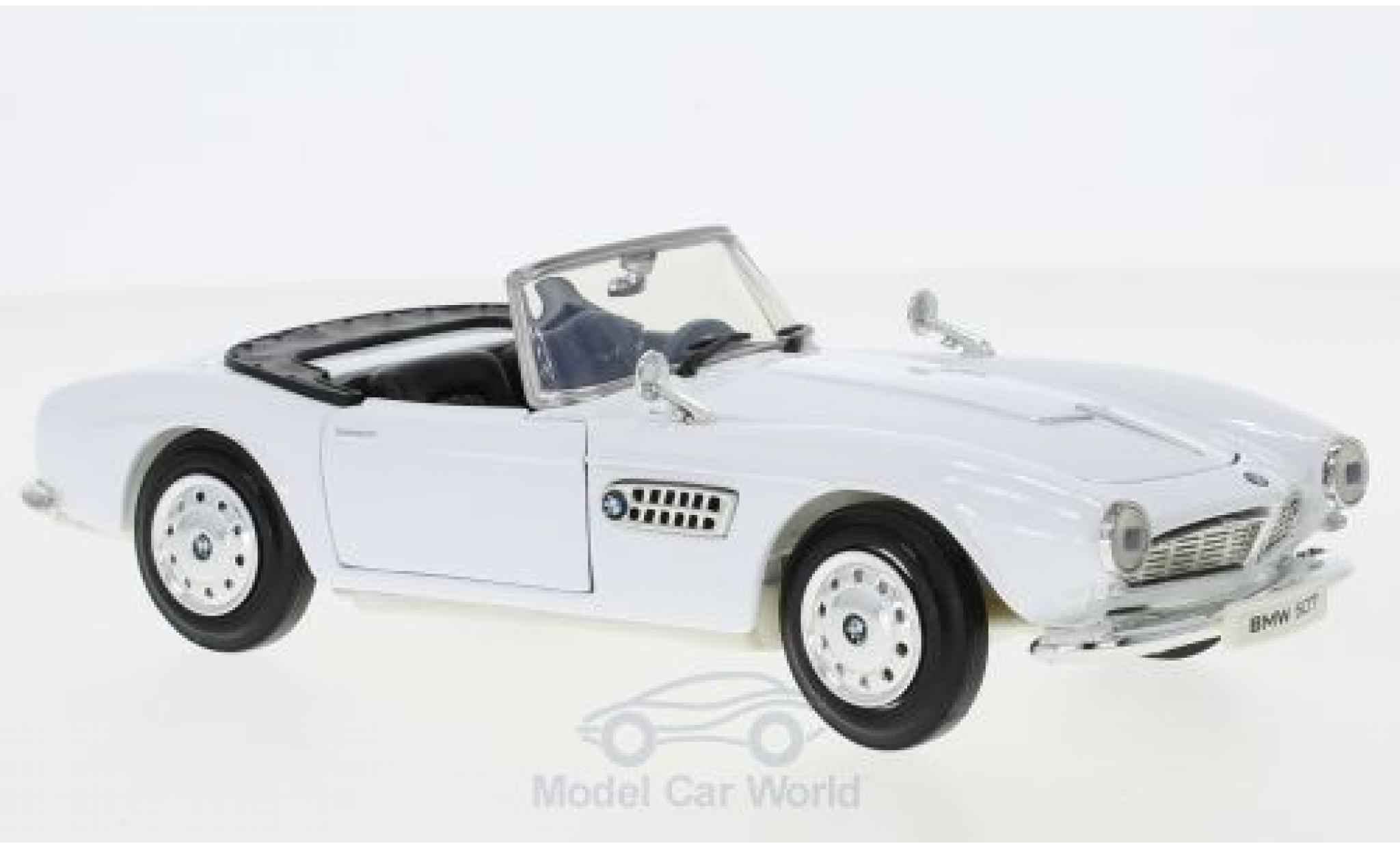 Bmw 507 1/24 Motormax BMW white