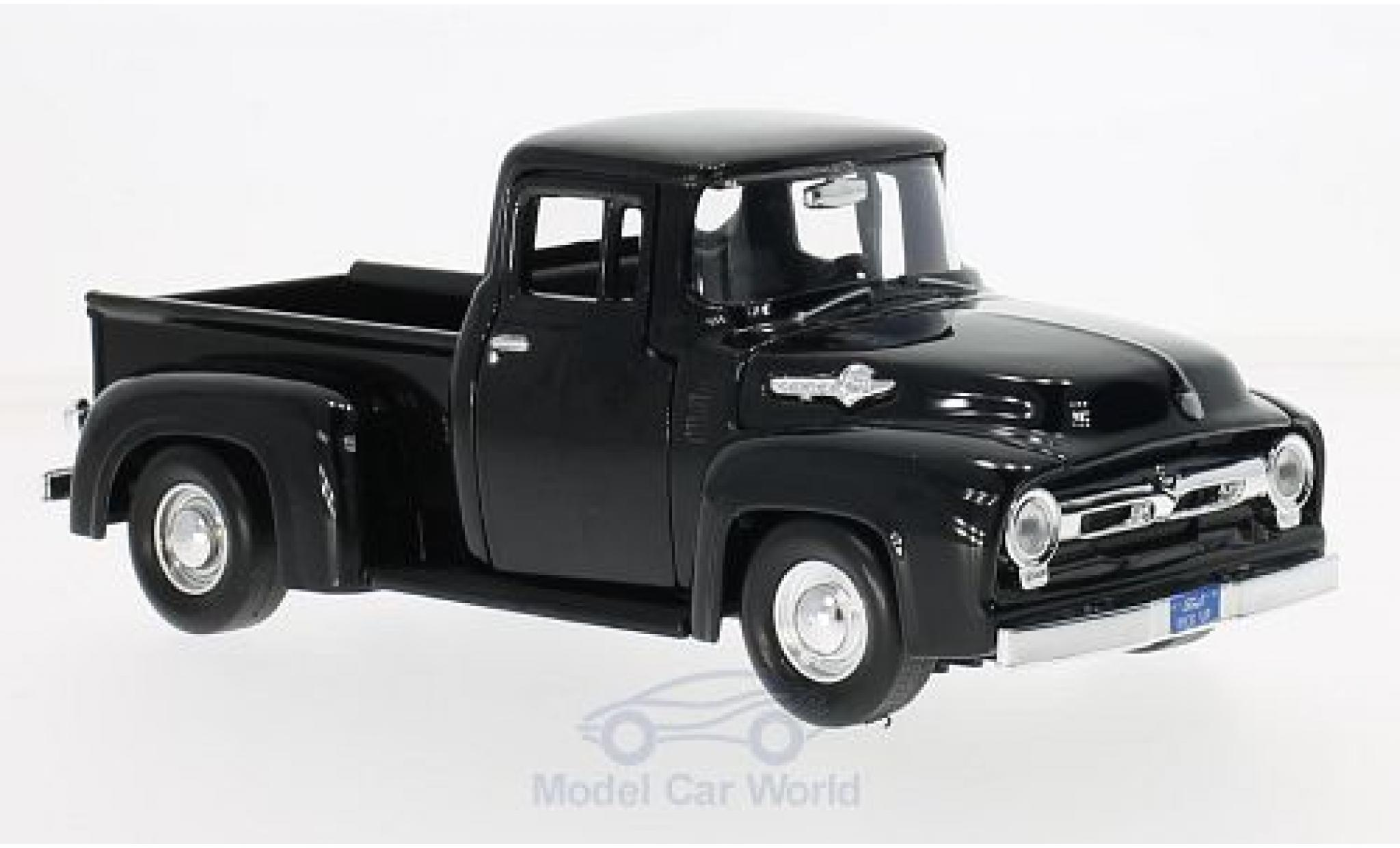 Ford F-1 1/24 Motormax 00 Pick Up noire 1956