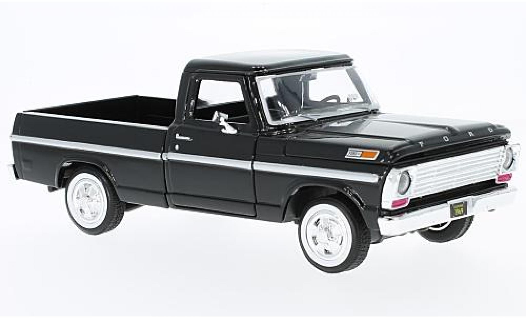 Ford F-1 1/24 Motormax 00 Pick Up noire 1969