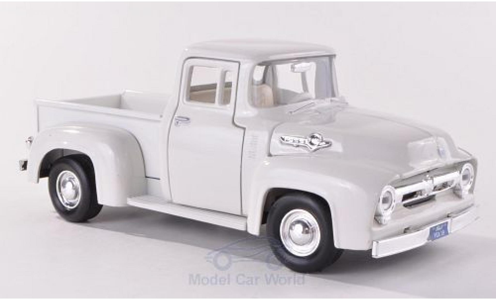 Ford F-1 1/24 Motormax 00 Pick Up blanche 1956 ohne Vitrine