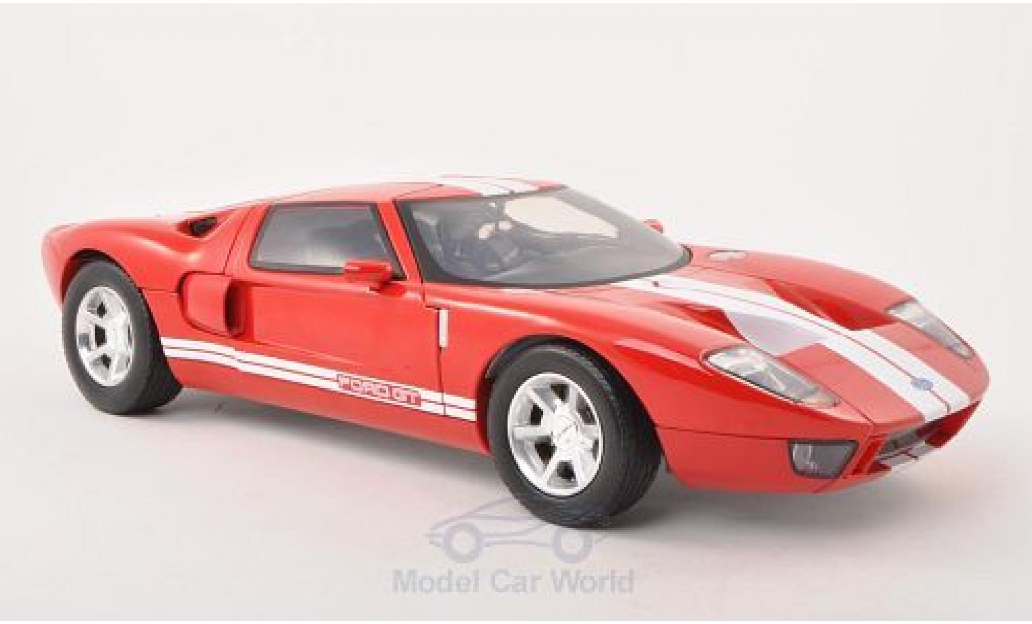 Ford GT 1/12 Motormax Concept rouge ohne Vitrine