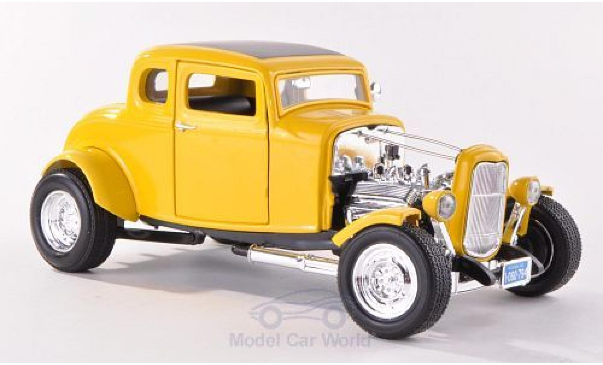 Ford Hot Rod 1/18 Motormax yellow 1932