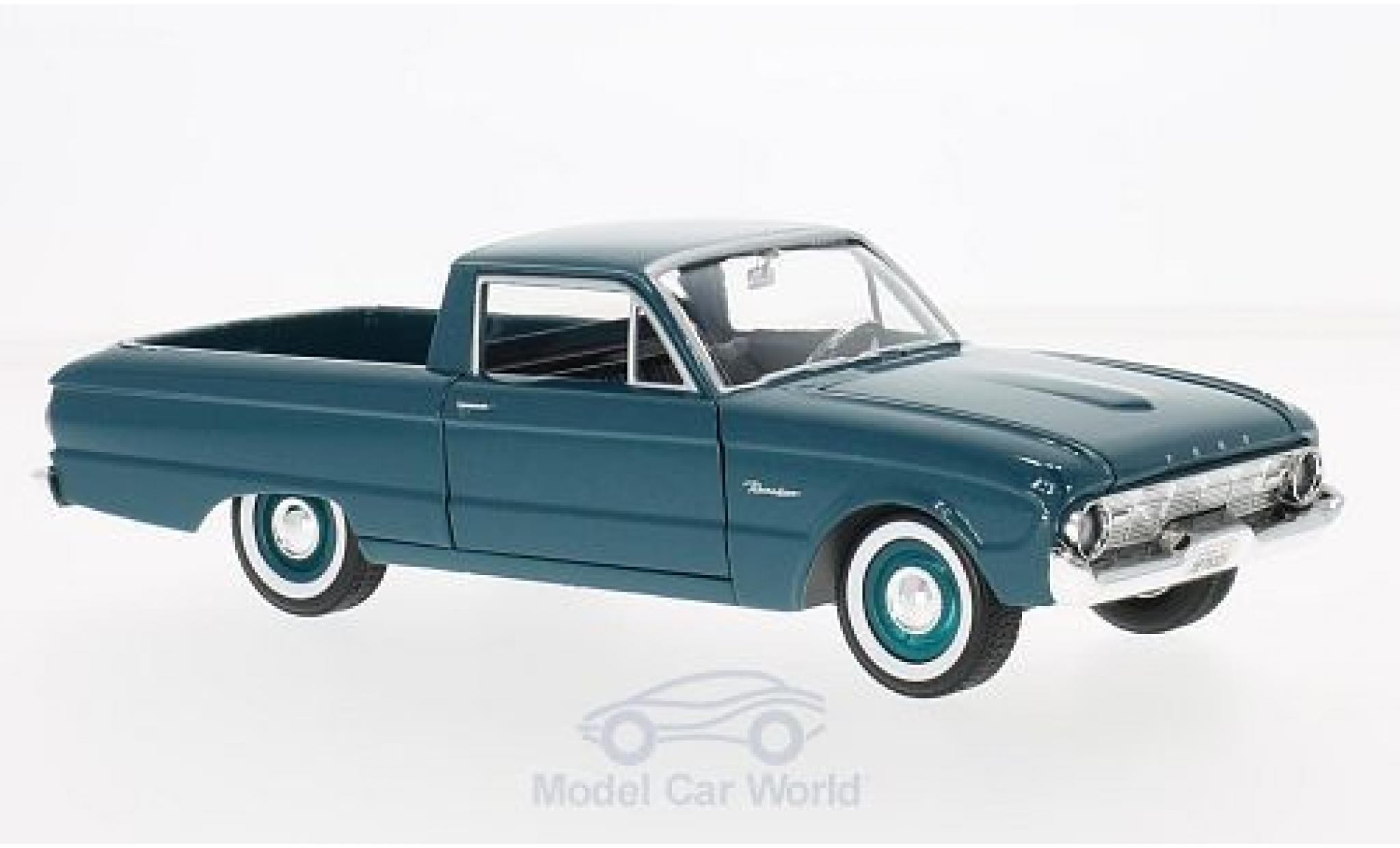 Ford Ranchero 1/24 Motormax turquoise 1960