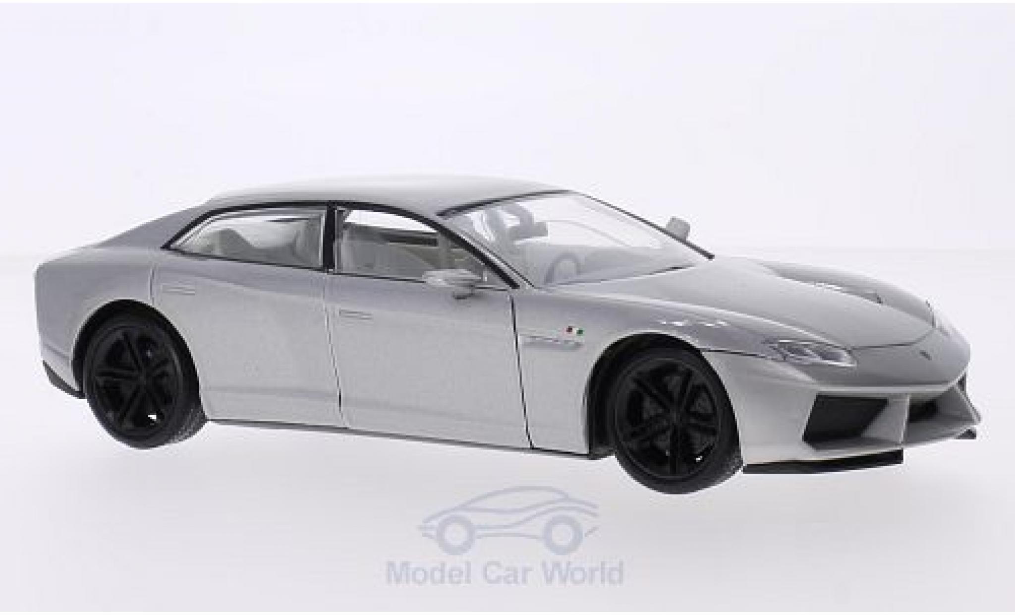 Lamborghini Estoque 1/18 Motormax metallic grey