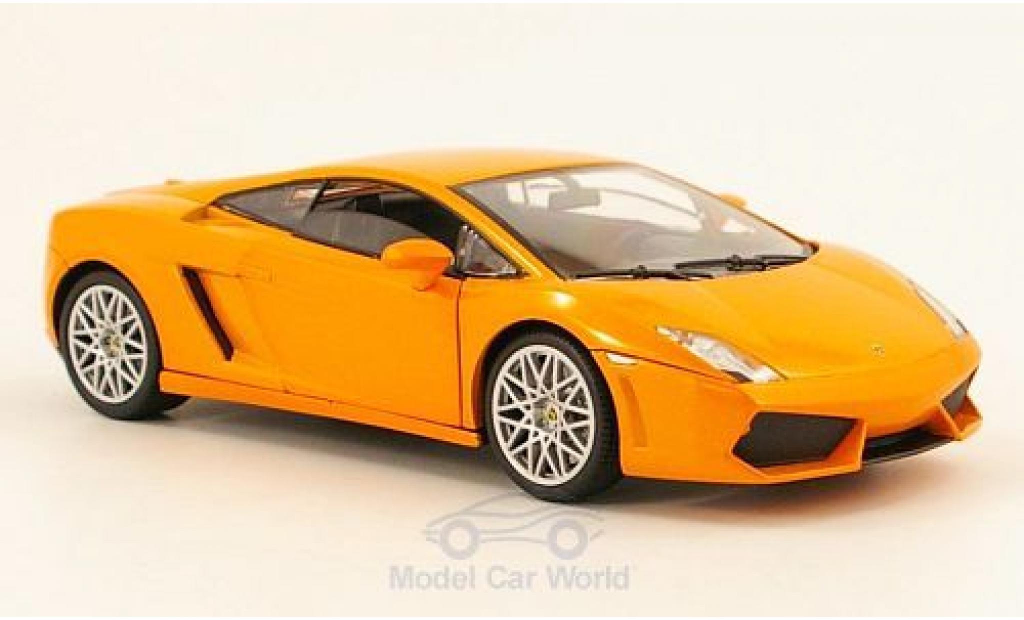 Lamborghini Gallardo LP560-4 1/24 Motormax orange