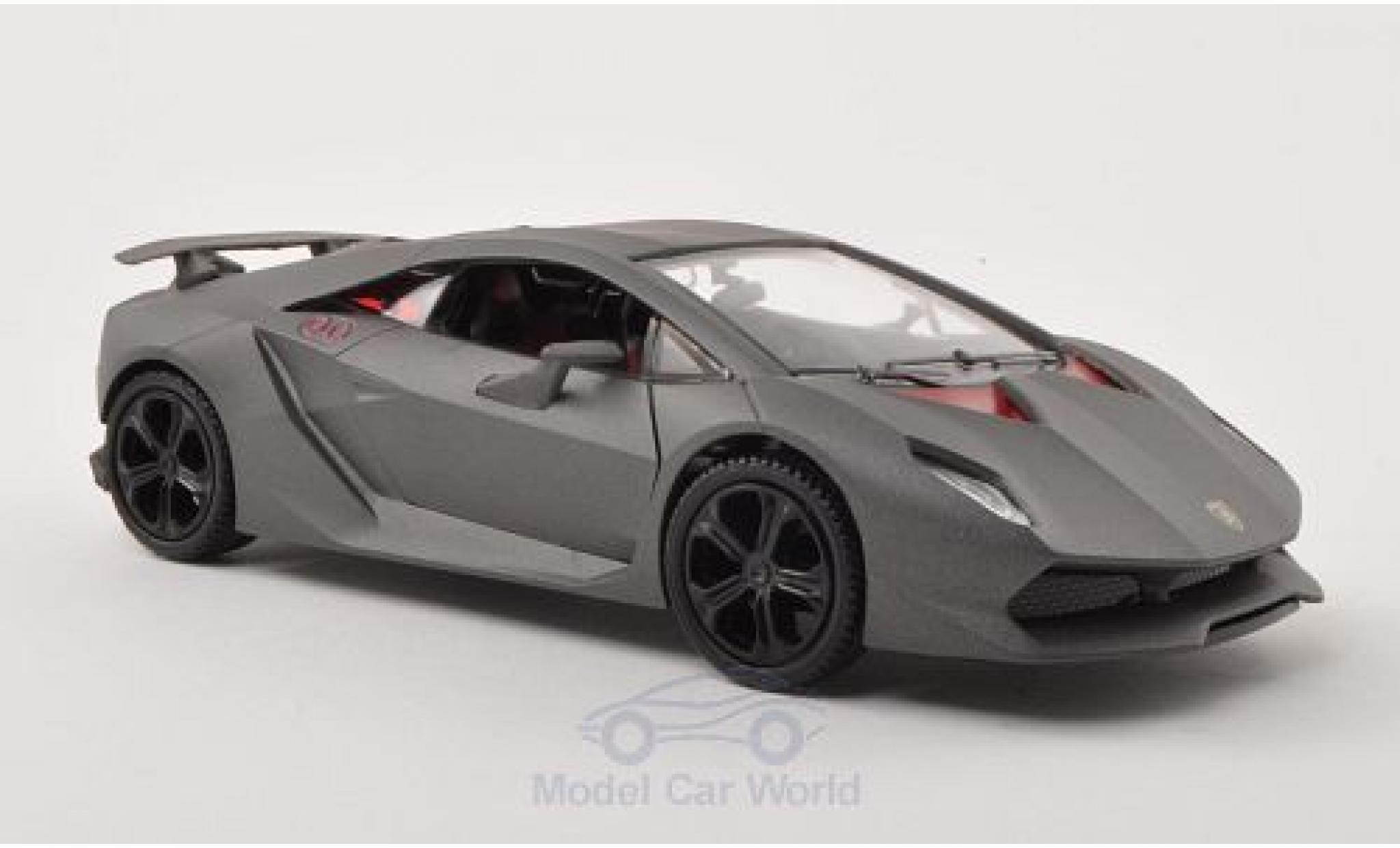 Lamborghini Sesto Elemento 1/24 Motormax matt-grise