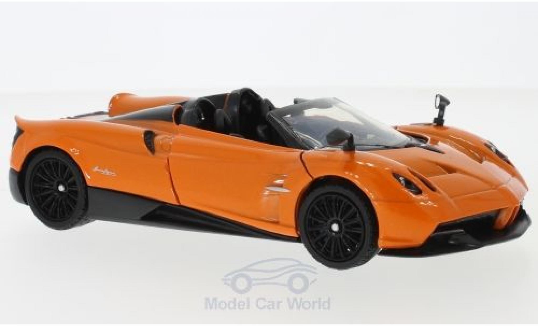 Pagani Huayra 1/24 Motormax Roadster metallise orange