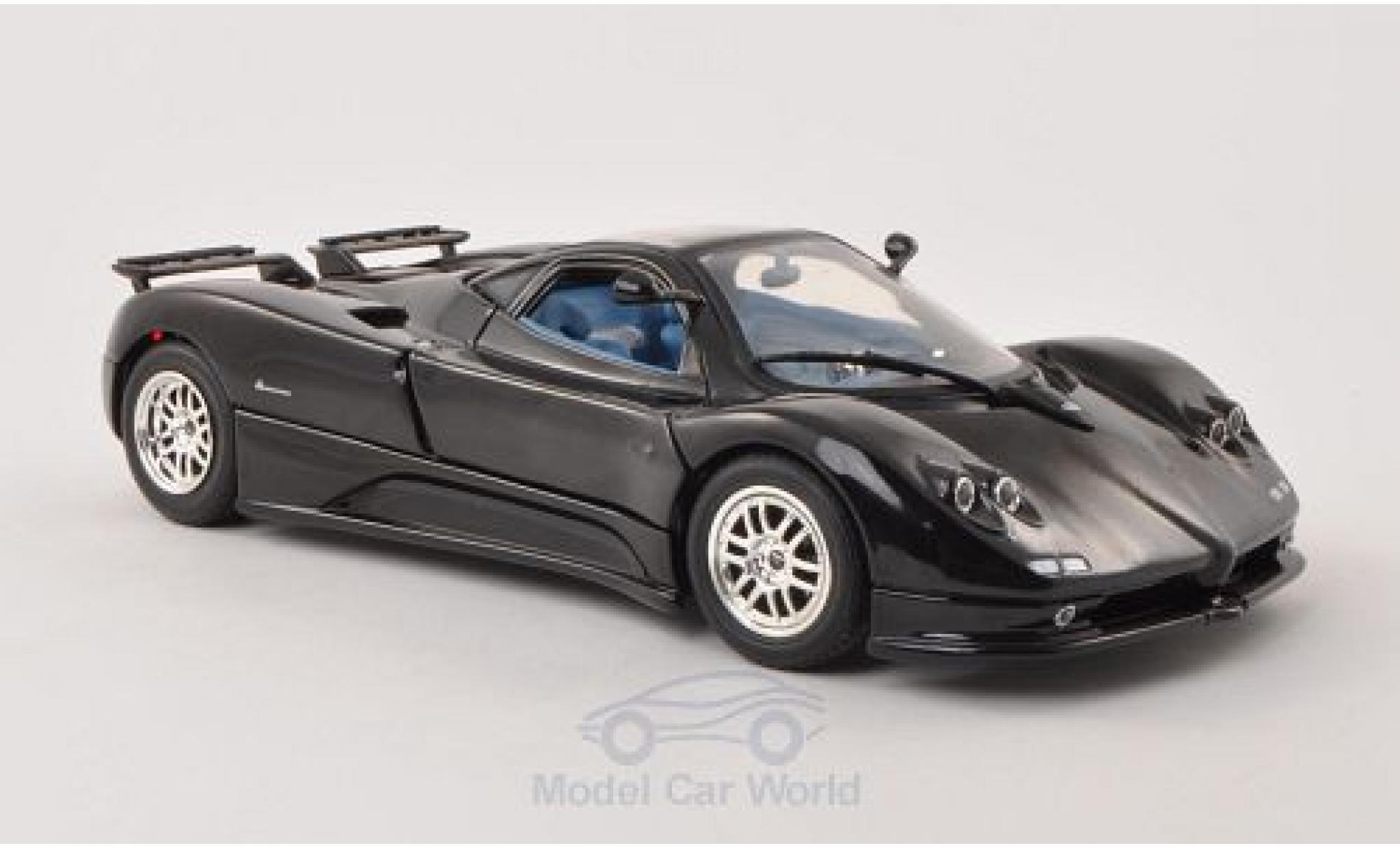Pagani Zonda R 1/18 Motormax C12 noire 2004