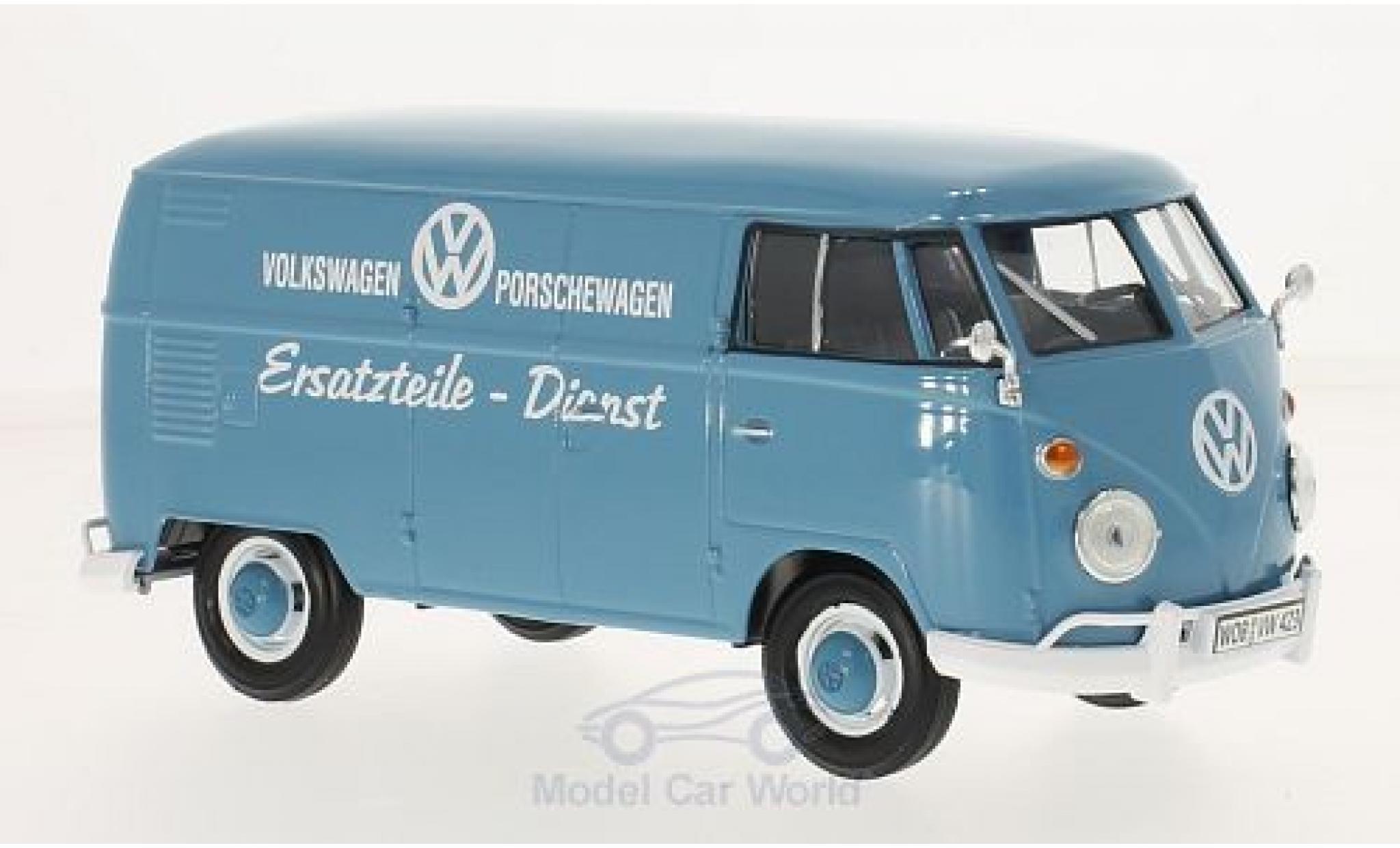 Volkswagen T1 A 1/24 Motormax Ersatzteile-Dienst Kastenwagen