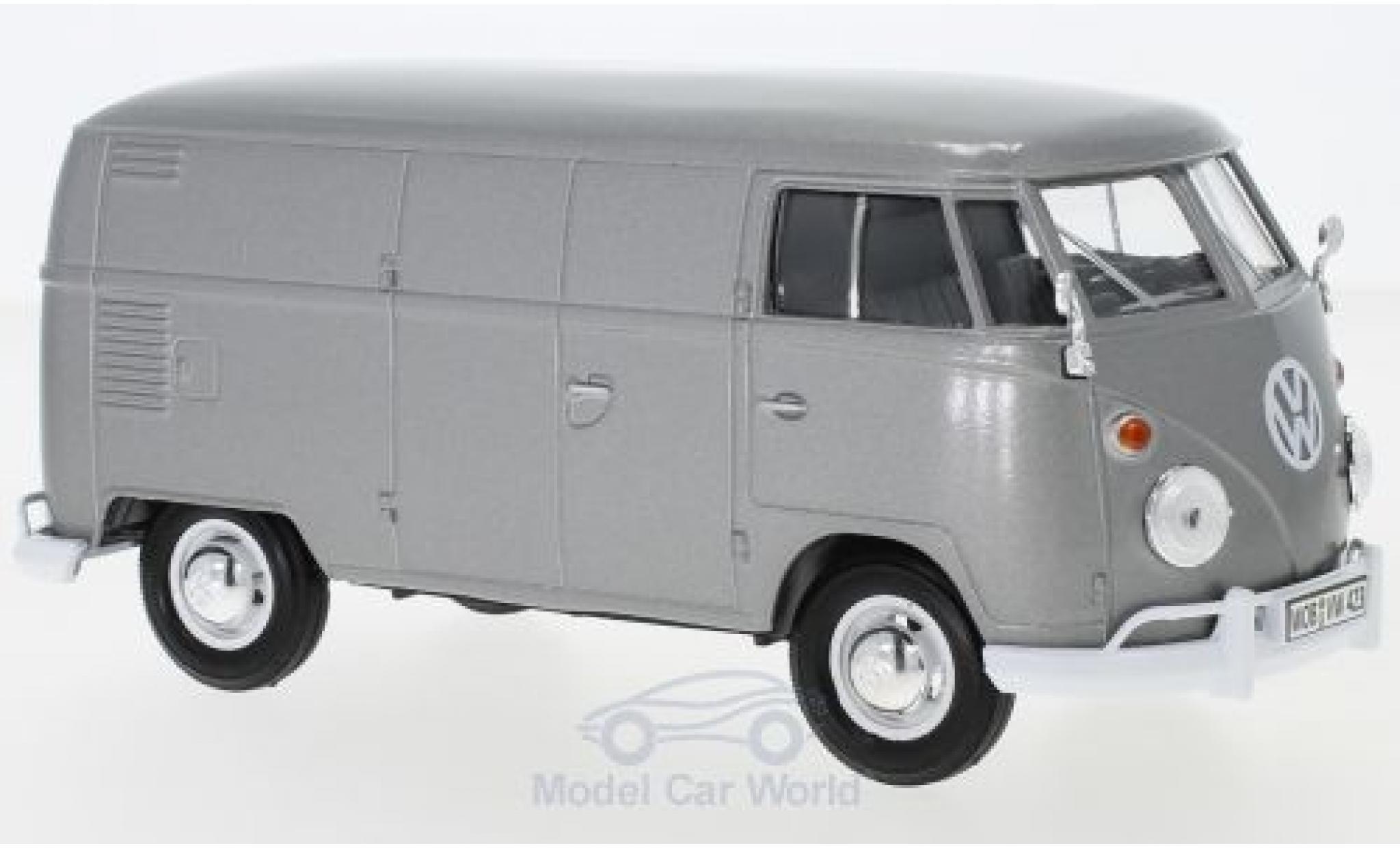 Volkswagen T1 1/24 Motormax Kasten metallic grey