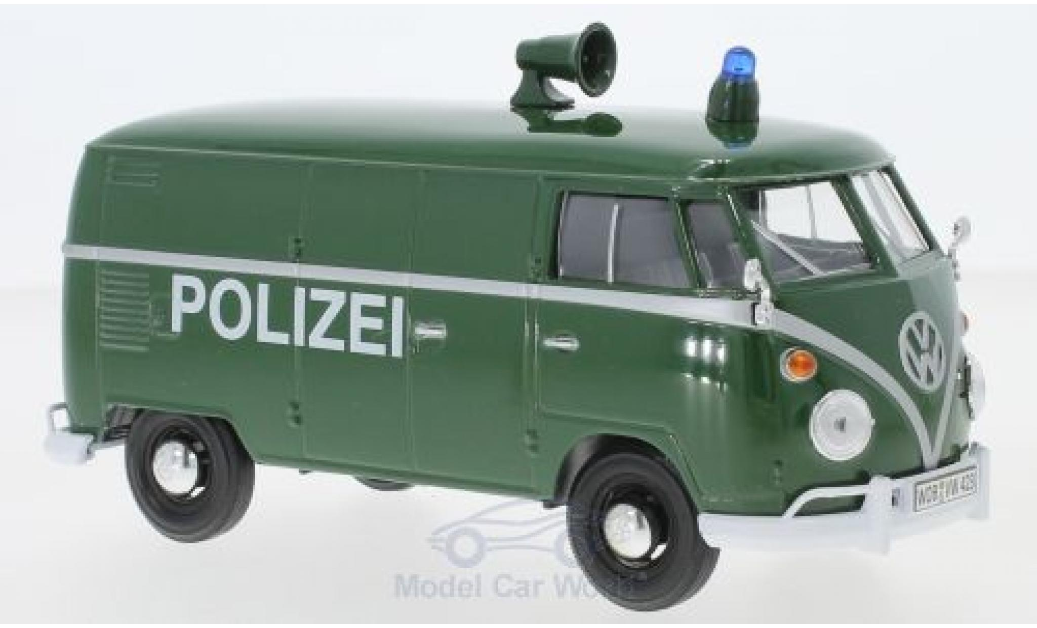 Volkswagen T1 A 1/24 Motormax Kasten Polizei