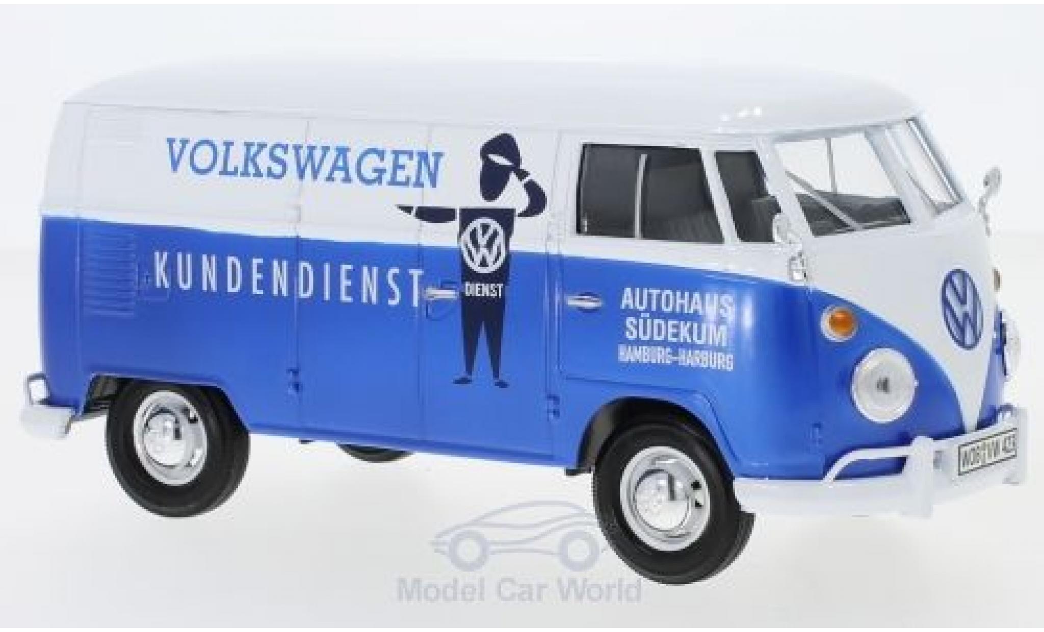 Volkswagen T1 A 1/24 Motormax Kasten Kundendienst