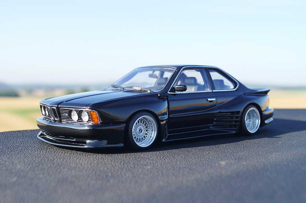Bmw 635 CSI 1/18 Autoart kit carrosserie Kago tuning miniature