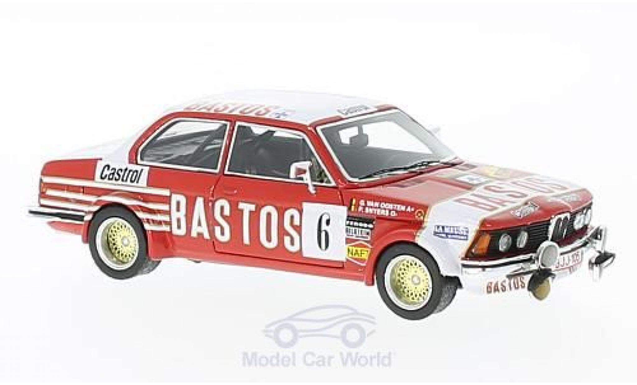 Bmw 323 1/43 Neo BMW i (E21) No.6 Bastos Rallye Condroz 1982 P.Snijers/G.van Oosten