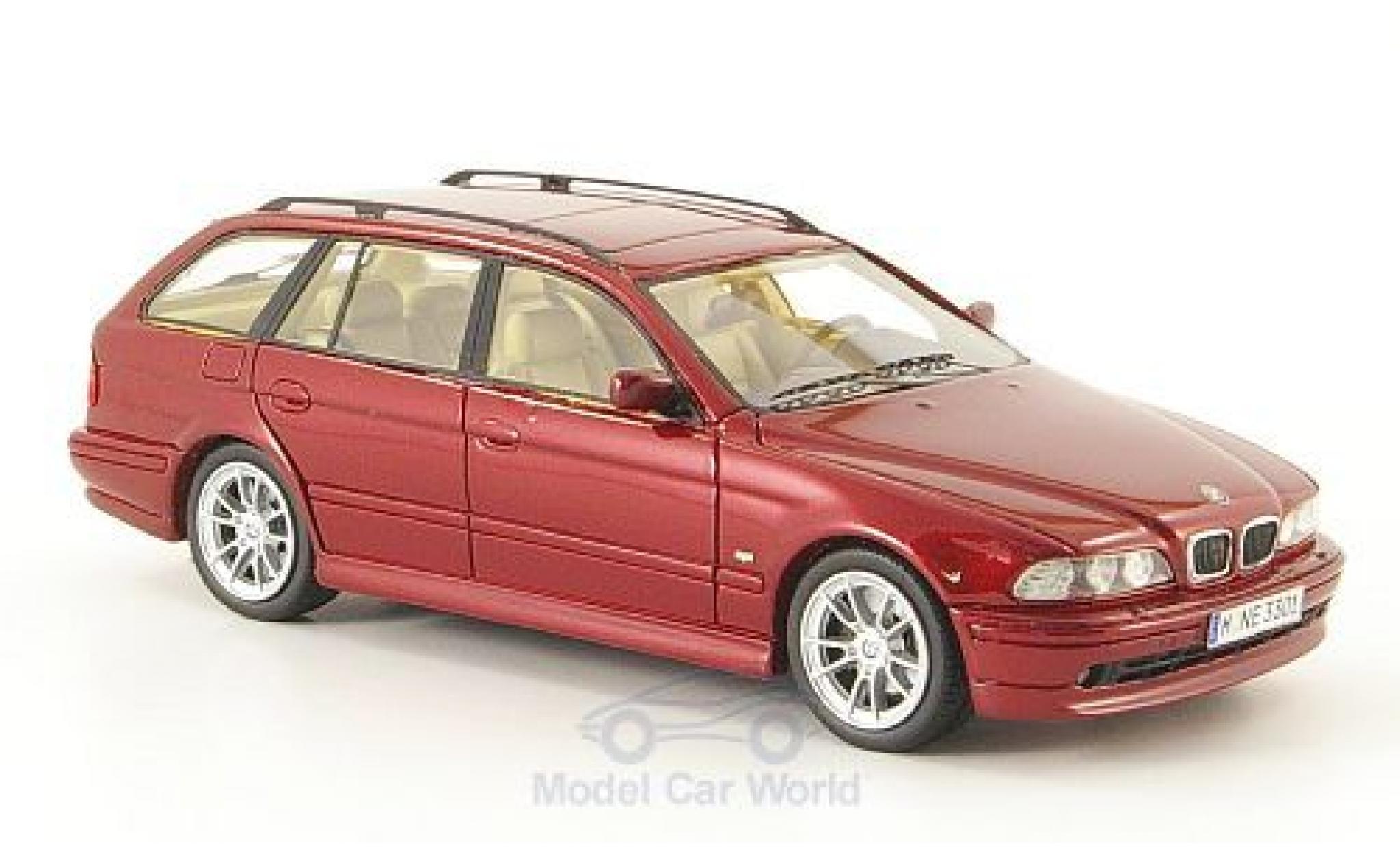 Bmw 520 1/43 Neo i Touring (E39) metallise rouge 2002