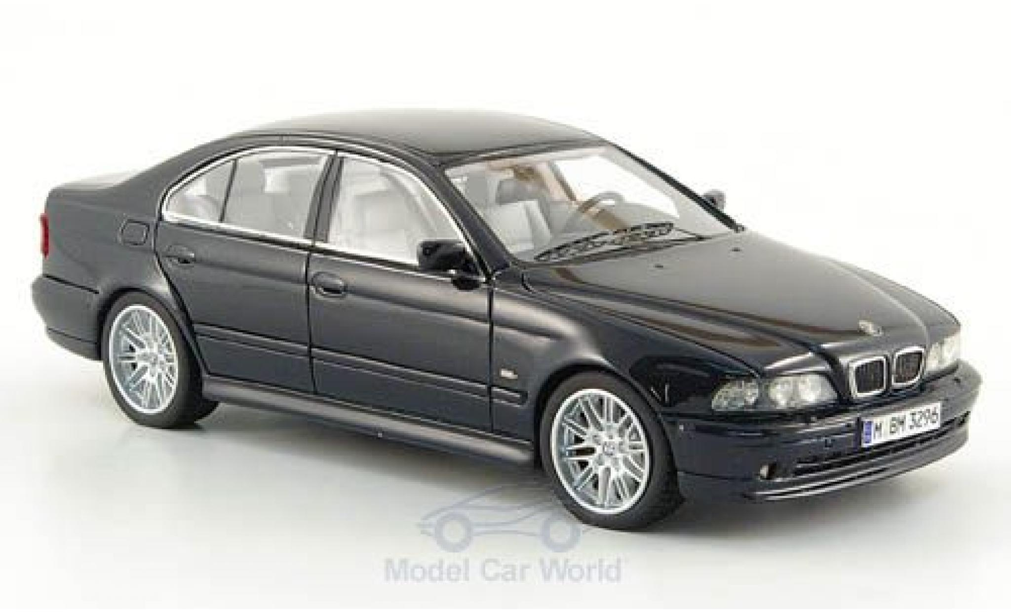 Diecast Model Cars Bmw 530 1 43 Neo I E39 Metallise Black 2002 Alldiecast Us