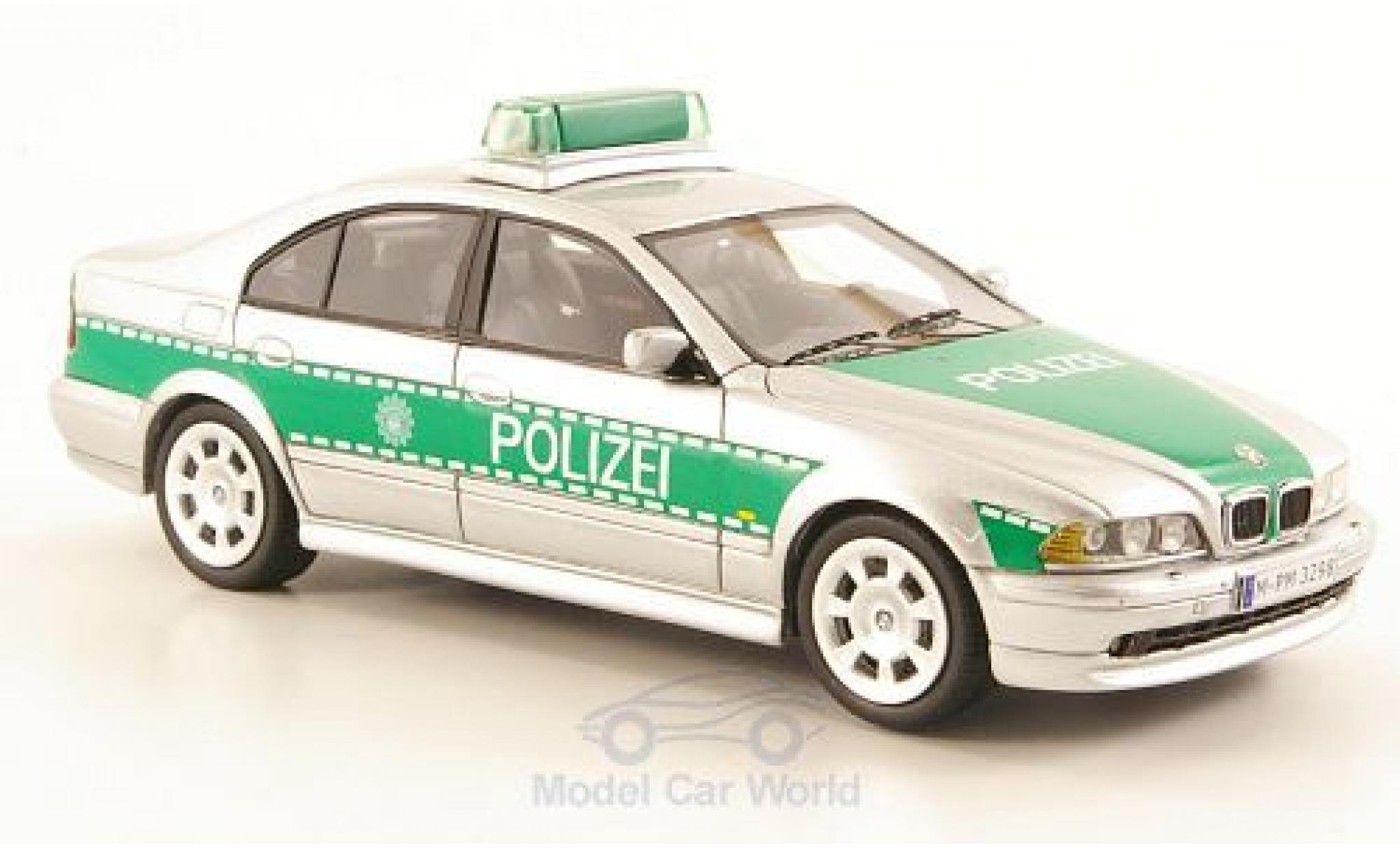 Bmw 530 1/43 Neo i (E39) grey/green 2002 Polizei