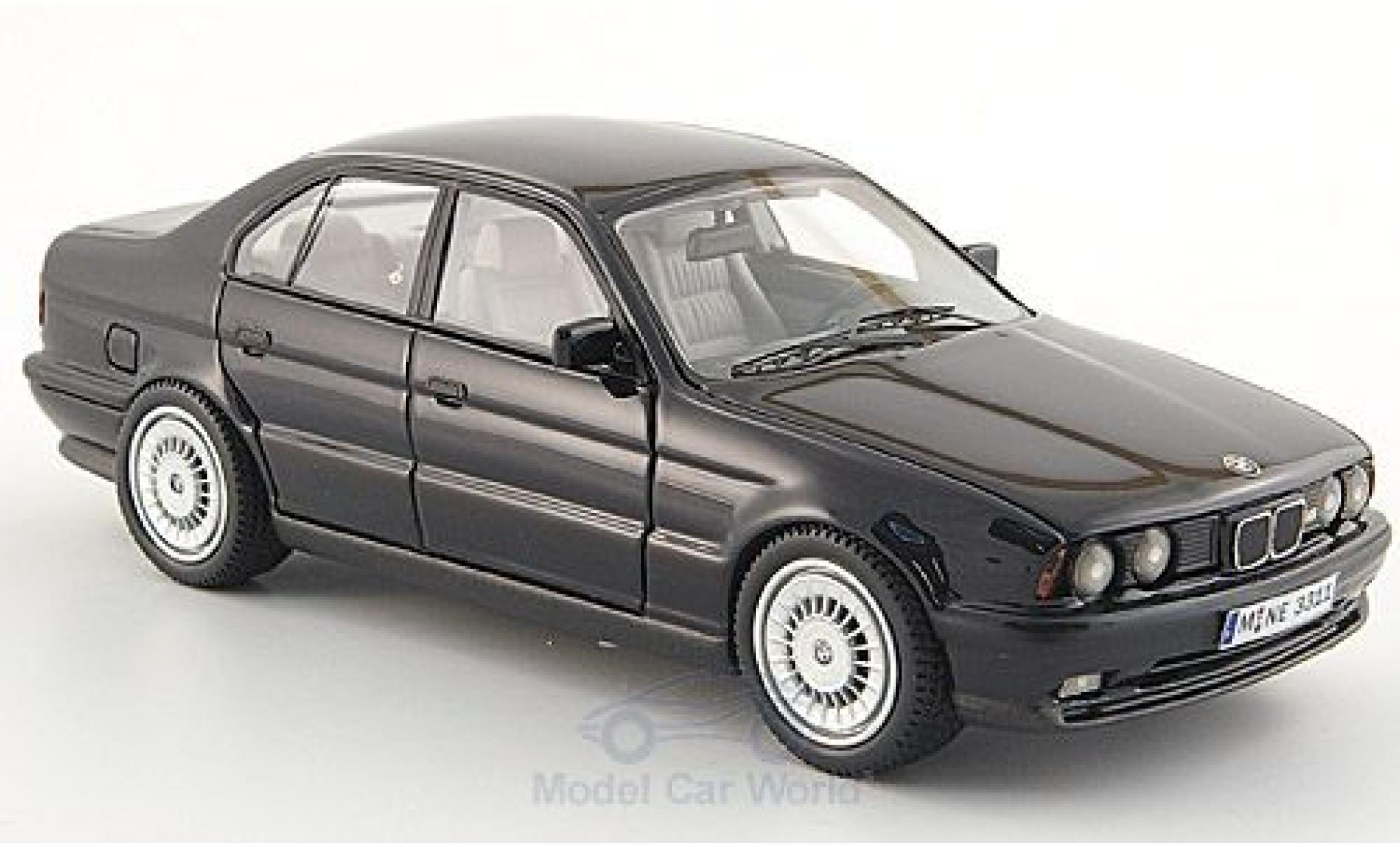 Bmw M5 E34 1/43 Neo BMW (E34) noire 1994