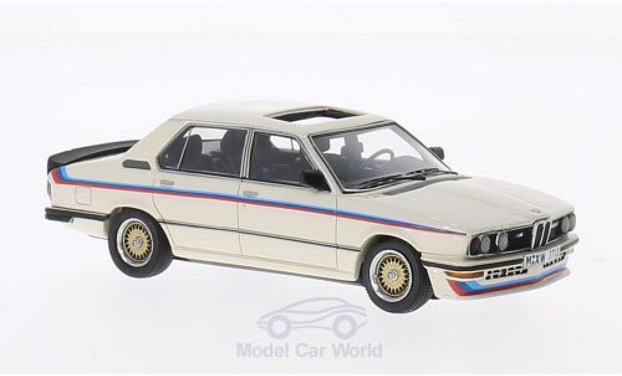 Bmw M5 E12 1/43 Neo 35i  blanche/Dekor 1980