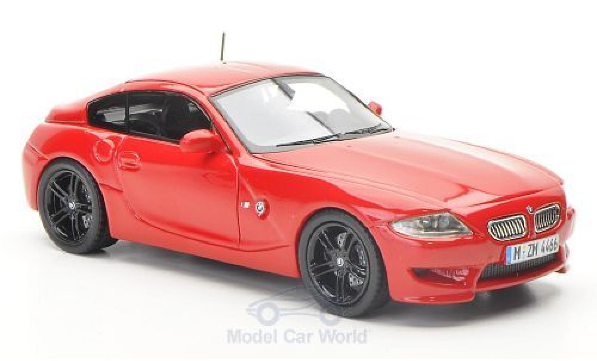 Bmw Z4 E86 1/43 Neo M Coupe  rouge 2009