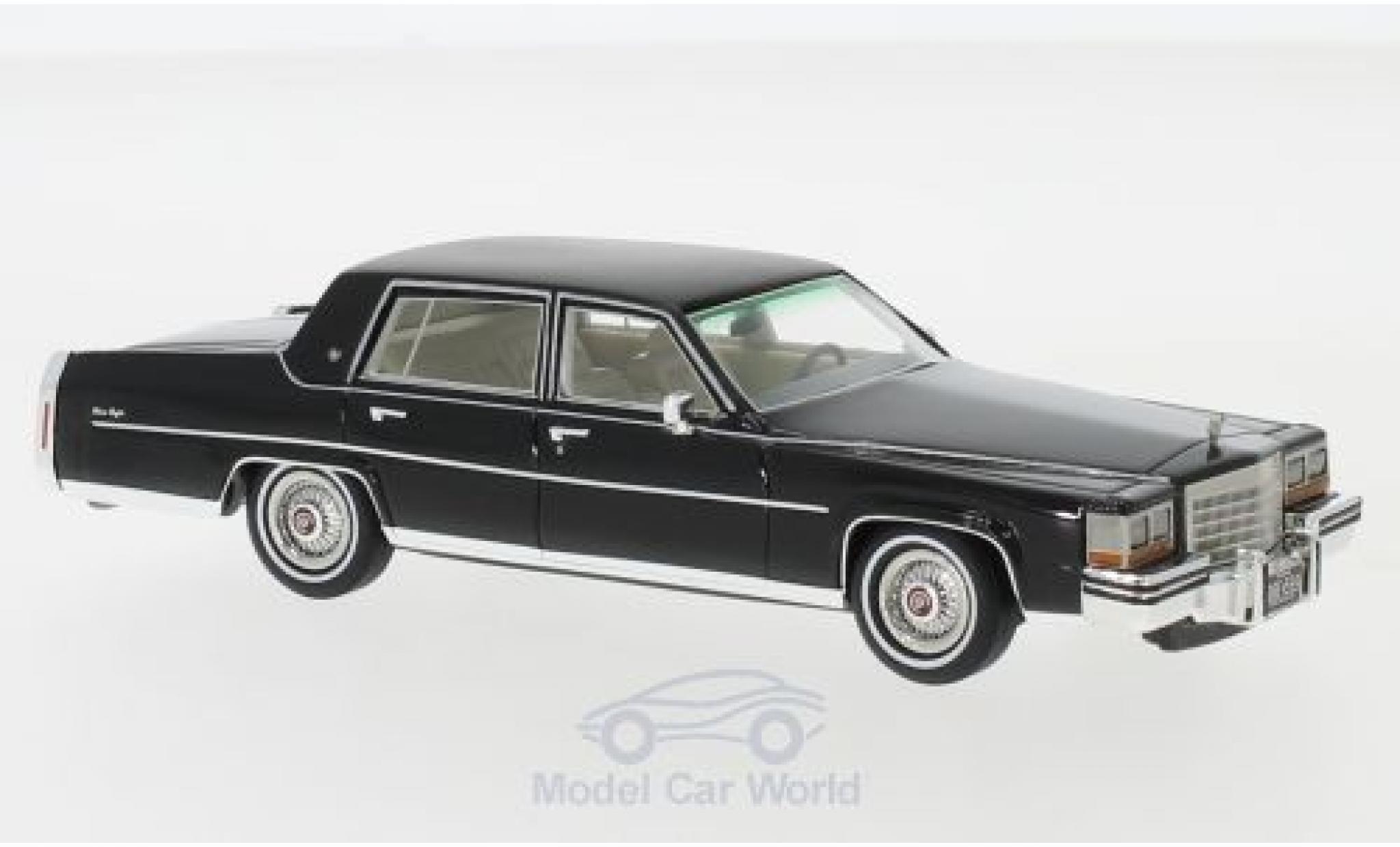 Cadillac Fleetwood 1/43 Neo Brougham noire 1980