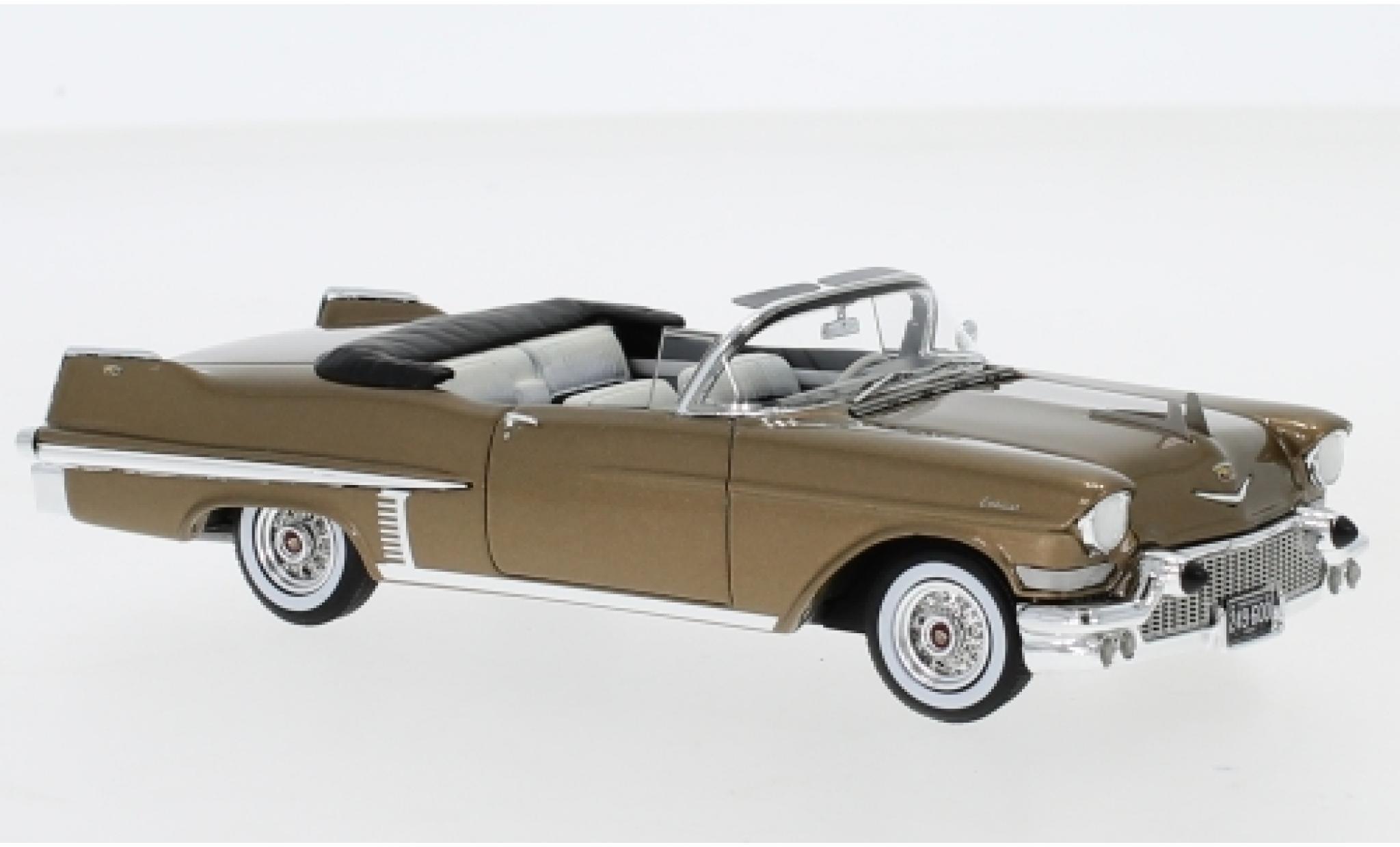 Cadillac Series 62 1/43 Neo Convertible metallise marron 1957