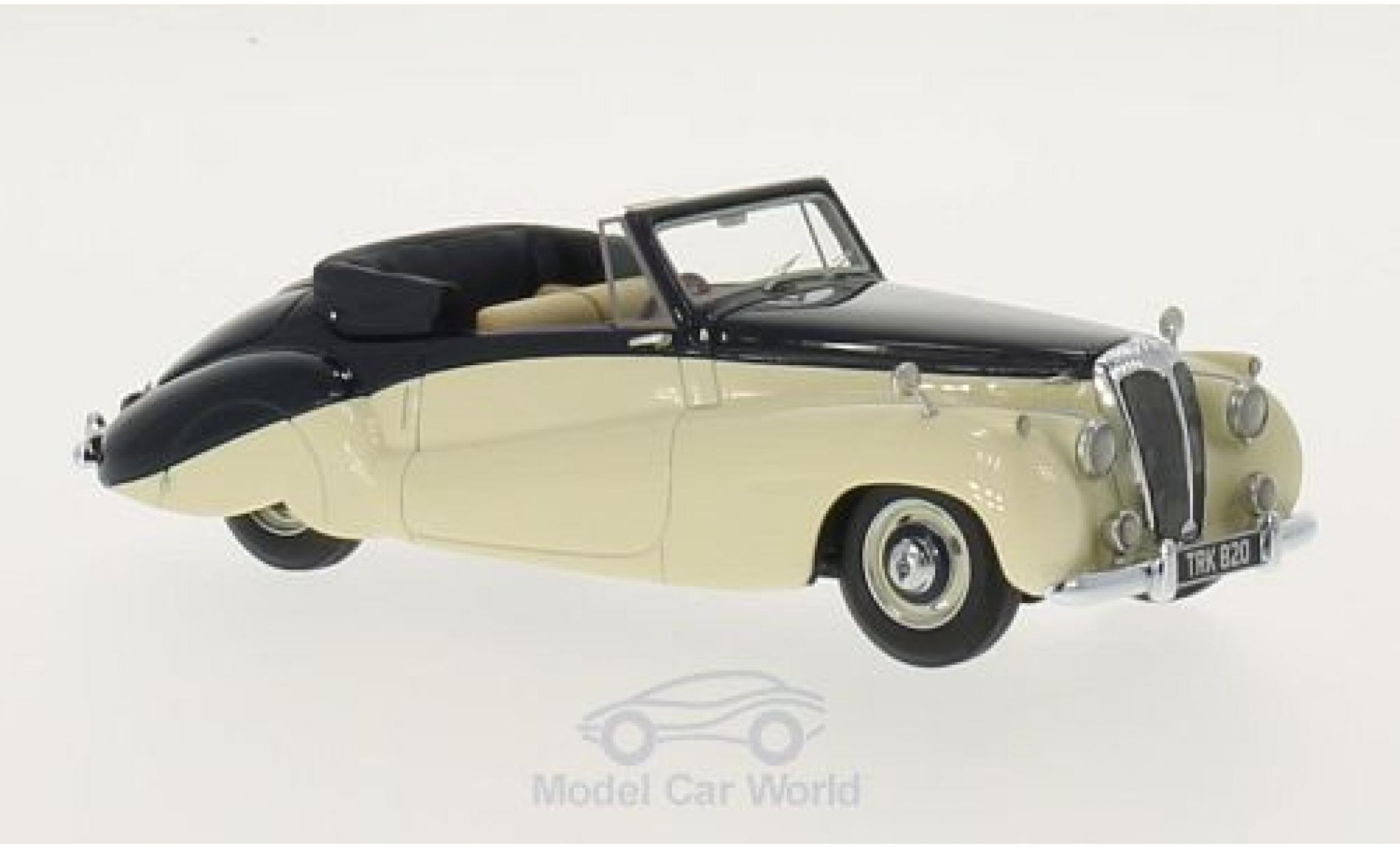 Daimler DB18 1/43 Neo Special Sports DHC by Barker beige/bleue RHD 1952