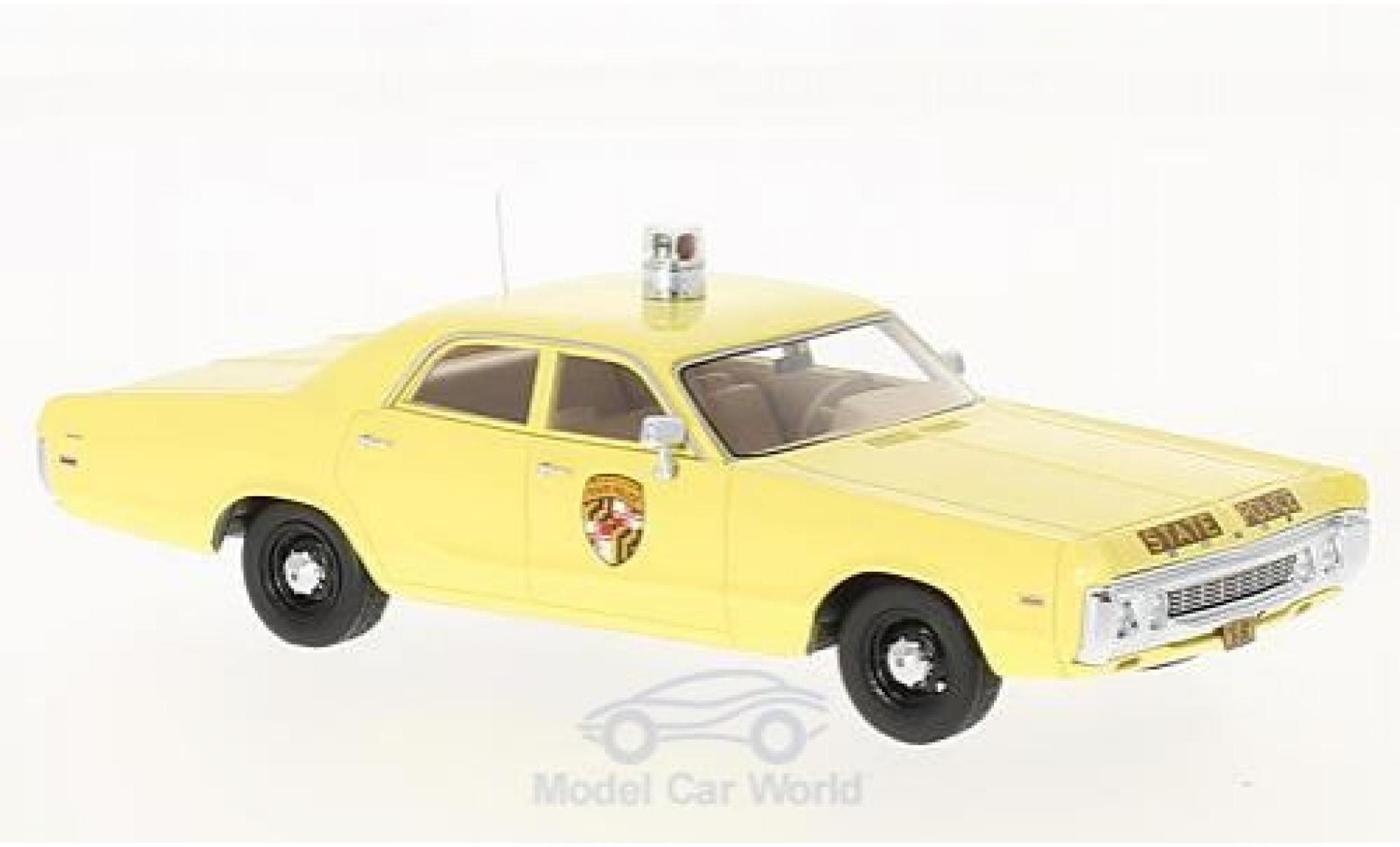 Dodge Polara 1/43 Neo Maryland State Police 1972